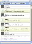 Sample Google Talk + Windows Live Messenger conversation